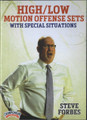 High Low Motion Offense Sets by Steve Forbes Instructional Basketball Coaching Video