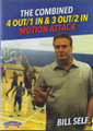 The Combined 4 Out 1 In & 3 Out 2 In Motion Attack by Bill Self Instructional Basketball Coaching Video