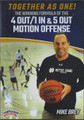 The Winning Combination Of The 4 Out 1 In & 5 Out Motion Offense by Mike Brey Instructional Basketball Coaching Video