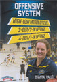 Offensive System: High Low 3 Out 2 In 4 Out 1 In Offenses by Chantal Vallee Instructional Basketball Coaching Video