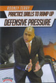 Practice Drills to Ramp Up Defensive Pressure by Rodney Terry Instructional Basketball Coaching Video