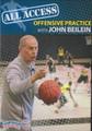 All Access Basketball Offensive Practice John Beilein by John Beilein Instructional Basketball Coaching Video