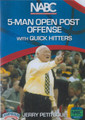 NABC 5 Man Open Post Offense w/  Quick Hitters by Jerry Petitgoue Instructional Basketball Coaching Video