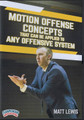 Motion Offense Concepts for Any Offensive System by Matt Lewis Instructional Basketball Coaching Video
