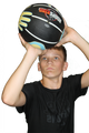 Basketball with Hand placement for learning to shoot the basketball