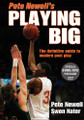 Pete Newell Playing Big
