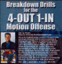 (Rental)-Breakdown Drills For The 4--out 1--in Motion