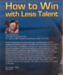 (Rental)-How To Win With Less Talent Dvd