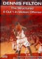 The Structured 4 Out 1 In Motion by Dennis Felton Instructional Basketball Coaching Video