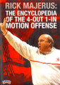 Rick Majerus: The Encyclopedia Of The 4--out--1--in by Rick Majerus Instructional Basketball Coaching Video