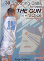 30 Shooting Drills For The Gun by Troy Geiser Instructional Basketball Coaching Video