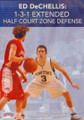 Ed Dechellis: 1--3--1 Extended Half Court Zone by Ed DeChellis Instructional Basketball Coaching Video