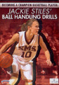 Jackie Stiles Ball Handling Drills by Jackie Stiles Instructional Basketball Coaching Video