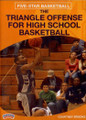 The Triangle Offense For High School Basketball by Courtney Brooks Instructional Basketball Coaching Video
