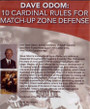 (Rental)-10 Cardinal Rules For Matchup Zone Defense