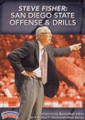San Diego State Offense And Drills by Steve Fisher Instructional Basketball Coaching Video