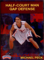Half Court Man Gap Defense by Michael Peck Instructional Basketball Coaching Video