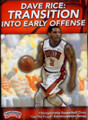 Transition Into Early Offense by Dave Rice Instructional Basketball Coaching Video