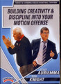 Auriemma & Knight: Creativity In Your Motion Offense by Bob Knight Instructional Basketball Coaching Video