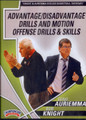 Auriemma & Knight:motion Offense Skills & Drills by Geno Auriemma Instructional Basketball Coaching Video