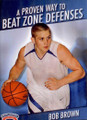 Proven Way To Beat Zone Defenses by Bob Brown Instructional Basketball Coaching Video