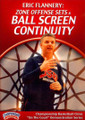 Zone Offense Sets & Ball Screen Continuity by Eric Flannery Instructional Basketball Coaching Video