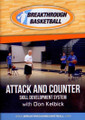Attack & Counter Skill Development Don Kelbick by Don Kelbick Instructional Basketball Coaching Video