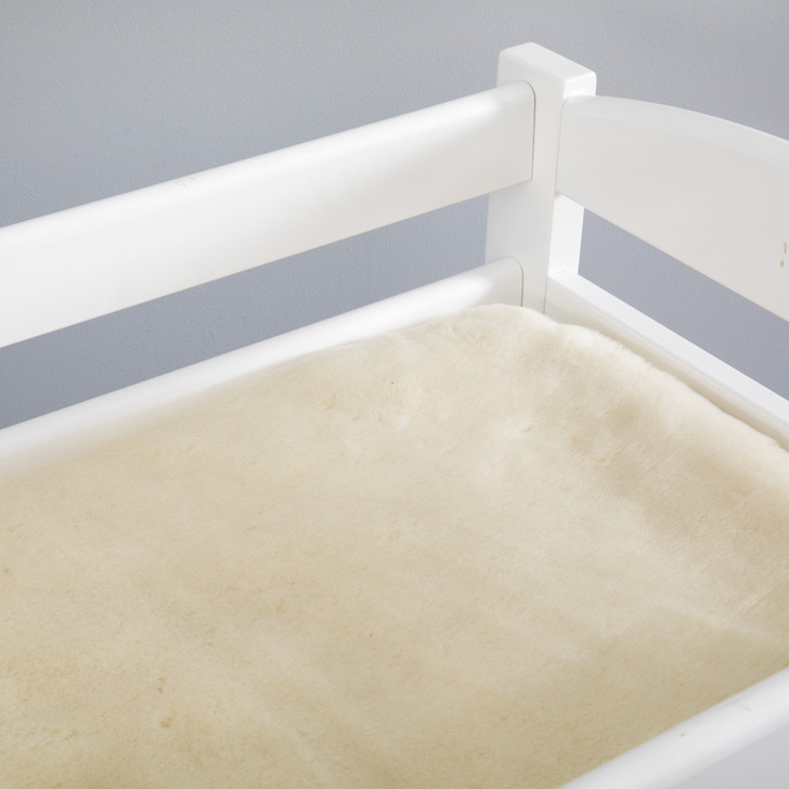 Reversible Pure Wool Bassinet and Change Table Topper