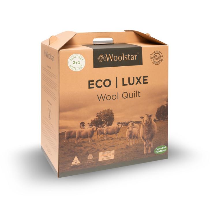 Eco - Wool Quilt Set