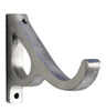 "dataDouble Grace Bracket Polished Aluminum 1"" Scale"