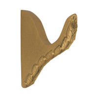 Acanthus Leaf Single Rod Bracket 2 in. Scale