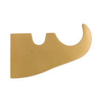 Four Screw Fluted Bracket 2 in. Scale
