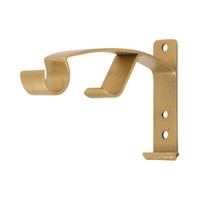 Italianate Arch Double Rod Bracket 1 in. Scale