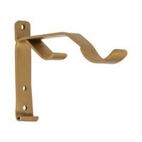 Italianate Double Rod C Ring Bracket 2 in. Scale