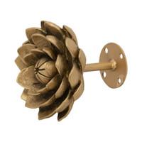 Lotus Flower Medallion/Tieback