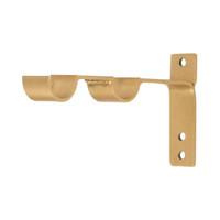 Modern Double Rod Bracket 1 in. Scale