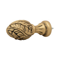 Acanthus Spiral Finial 2 in. Scale