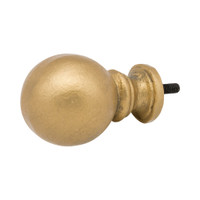 Ball Large Finial 1 in. Scale