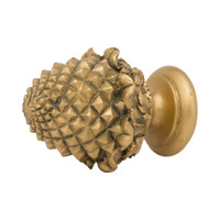 Pineapple Facette Finial 2 in. Scale