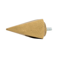 Bauhaus Pyramid Finial 1 in. Scale