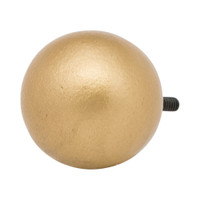 Simple Ball Finial 1 in. Scale