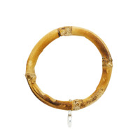 2 in. Natural Bamboo Ring 7 Pack