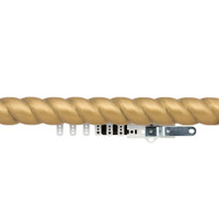 1-3/4 in. Carved Wood Traverse Rod