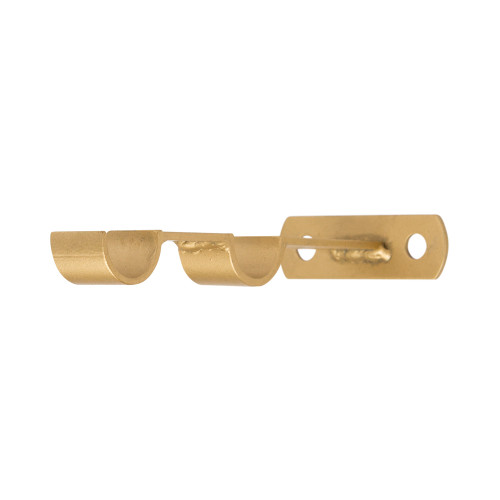 "Modern Double Rod Mullion Bracket 1"" Scale"