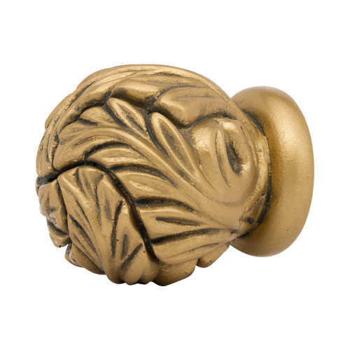 """Acanthus Ball Finial 2"""" Scale"""