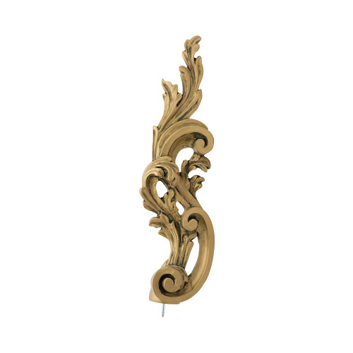 "Bernini Finial Left Finial 2"" Scale"