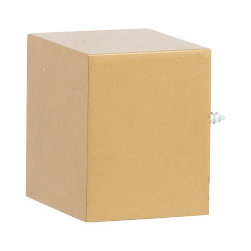 "Modern Cubic 2.0 Finial 2"" Scale"