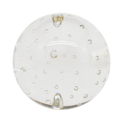 "Glass Bubble Ball Finial 2"" Scale"
