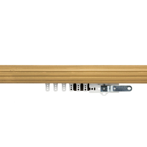 """1-3/4"""" Fluted Wood Traverse Rod"""