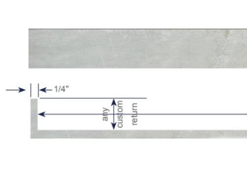 Modern Cornice - Single Traverse